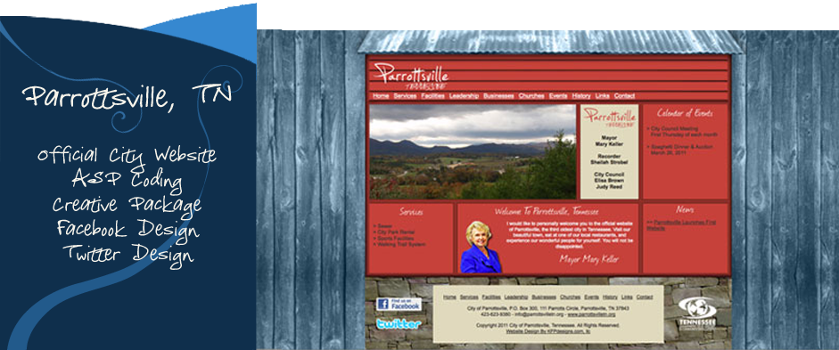 City of Parrottsville, Tennessee
